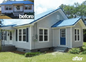 before after house repairs